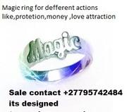 Magic ring, wallet and magic money